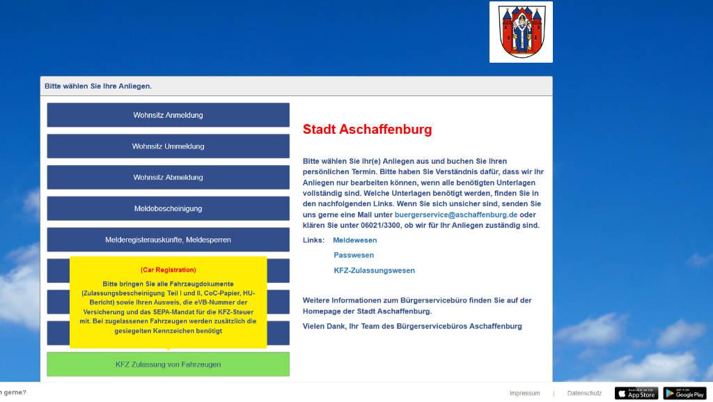 cleverQ Dienste Stadt Aschaffenburg